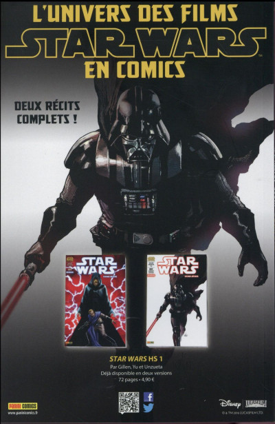 Dos Star Wars fascicule tome 8 - cover 1/2