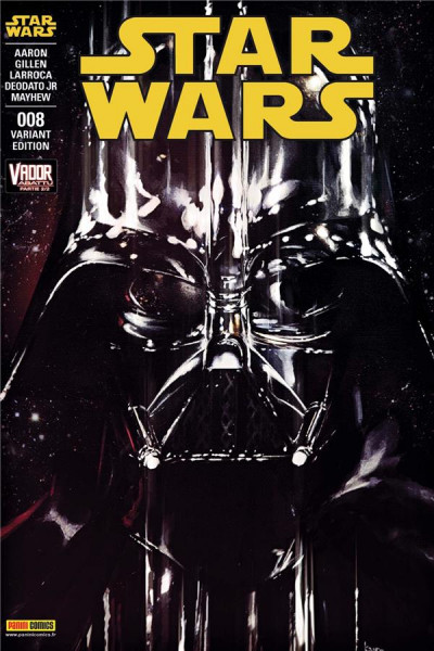 Couverture Star Wars fascicule tome 8 - cover 2/2