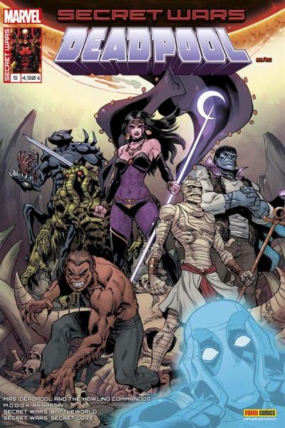 Couverture Secret wars : Deadpool tome 5