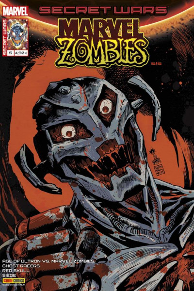Couverture Secret wars : Marvel zombies tome 5