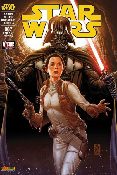 Couverture Star wars tome 7 -  Vador Abbattu (cover 2/2)