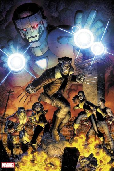 Couverture Secret wars : Old man Logan tome 5 - Variant cover