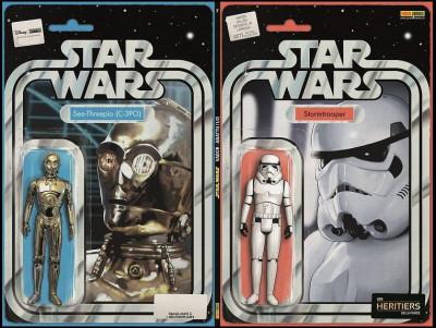 Couverture Star wars fascicule tome 7 - Variant Cusset