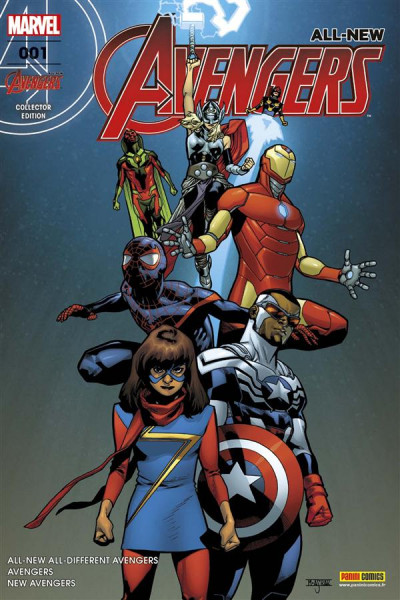 Couverture All-New Avengers tome 1 - Cover Fnac
