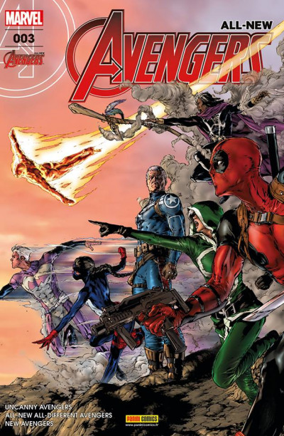 Couverture All-New Avengers tome 3