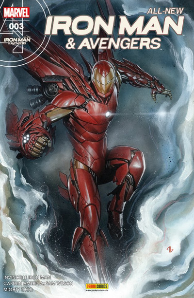 Couverture All-New Iron Man & the Avengers tome 3