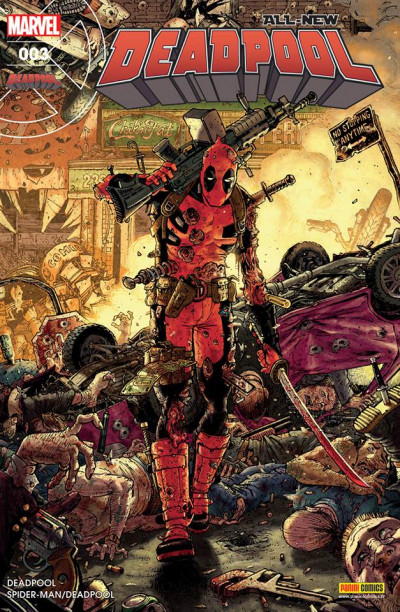 Couverture All-New Deadpool tome 3