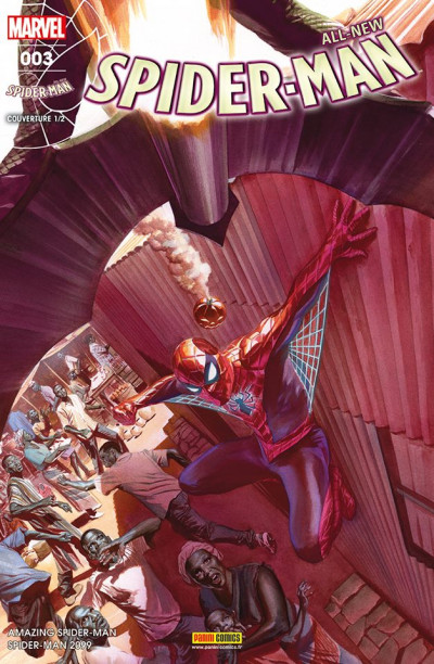 Couverture All-New Spider-Man tome 3 (cover 1/2)