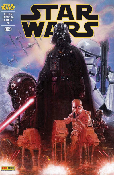 Couverture Star Wars fascicule tome 9 (cover 1/2)