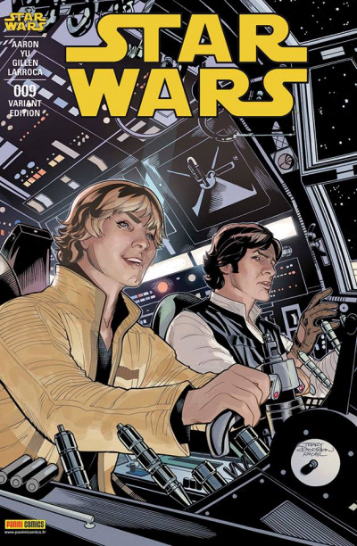 Couverture Star Wars fascicule tome 9 (cover 2/2)