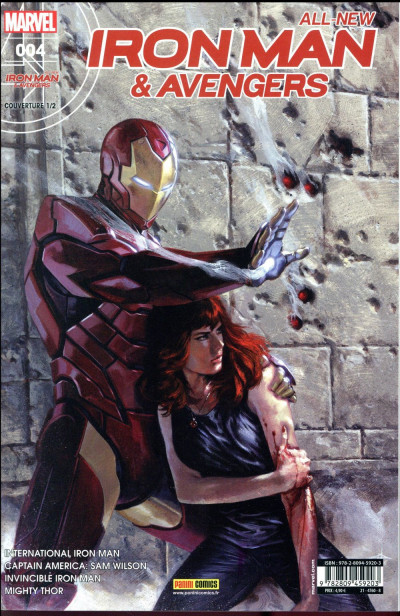Couverture All-New Iron Man & the Avengers tome 4 (cover 1/2)