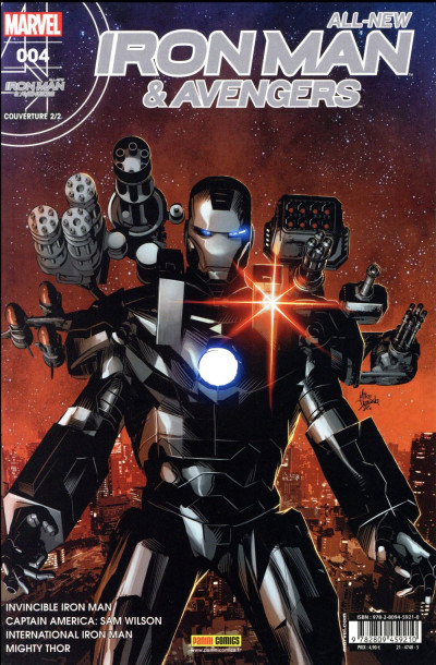 Couverture All-New Iron Man & the Avengers tome 4 (cover 2/2)