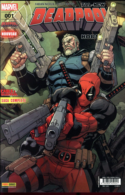 Couverture All-New Deadpool HS tome 1