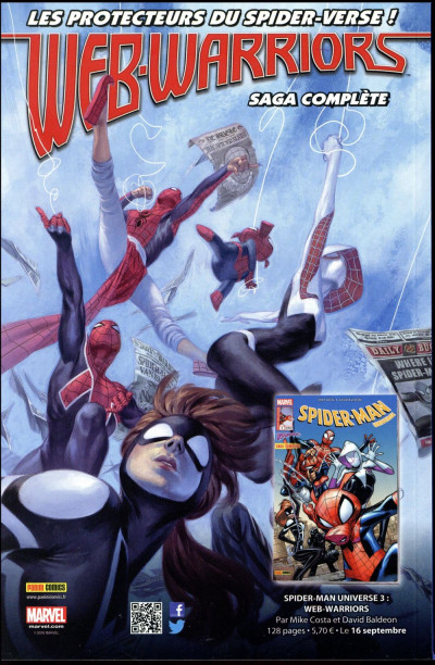 Dos All-New Spider-Man tome 4