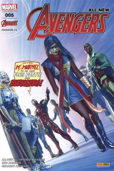 Couverture All-New Avengers tome 5 - cover 1/2