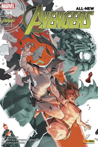 Couverture All-New Avengers tome 5 - cover 2/2