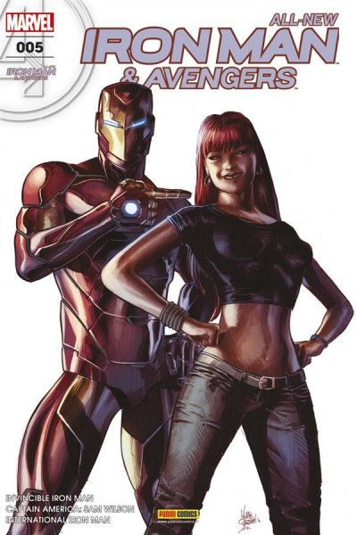 Couverture All-New Iron Man & the Avengers tome 5