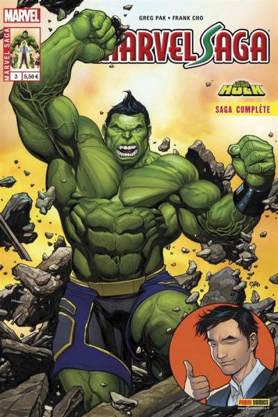 Couverture Marvel Saga tome 3