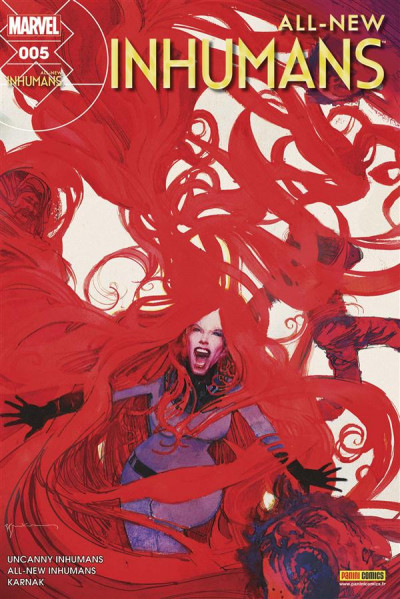 Couverture All-New Inhumans tome 5