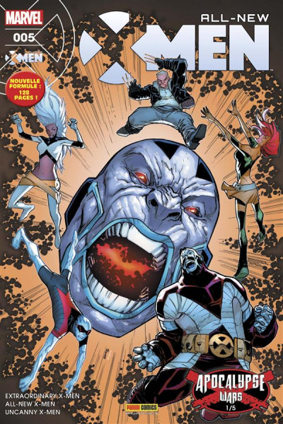 Couverture All-New X-Men tome 5