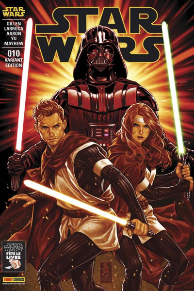 Couverture Star Wars fascicule tome 10 - cover 2/2