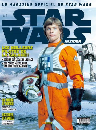 Couverture Star Wars Insider N.9