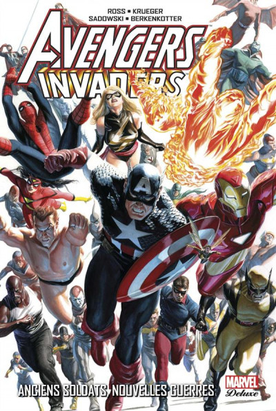 Couverture Avengers/Invaders
