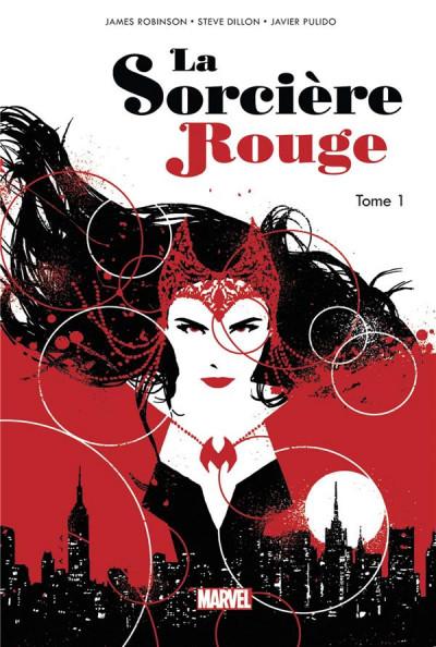 Couverture La sorcière rouge tome 1