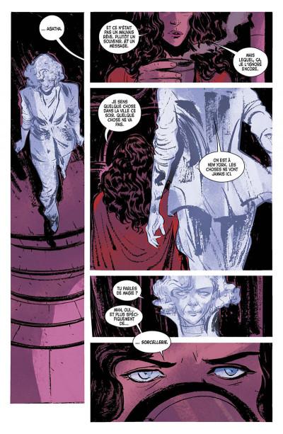 Page 0 La sorcière rouge tome 1