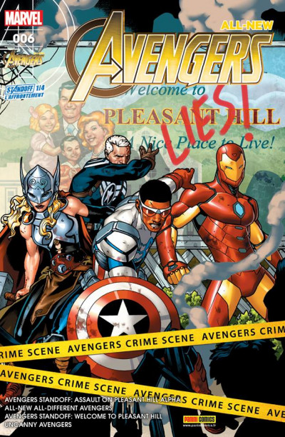 Couverture All-New Avengers tome 6