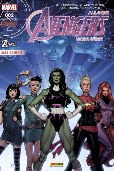 Couverture All-New Avengers HS tome 2