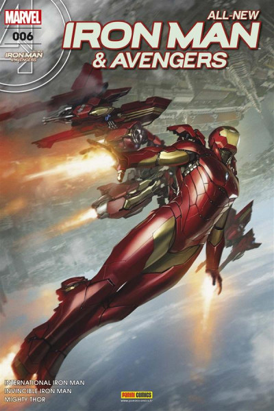 Couverture All-New Iron Man & Avengers tome 6
