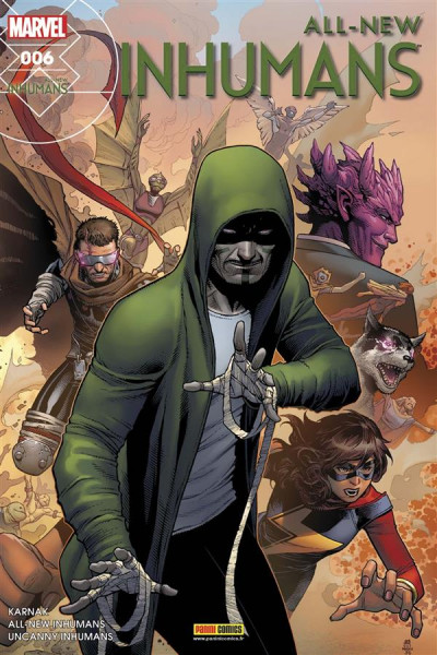 Couverture All-New Inhumans tome 6