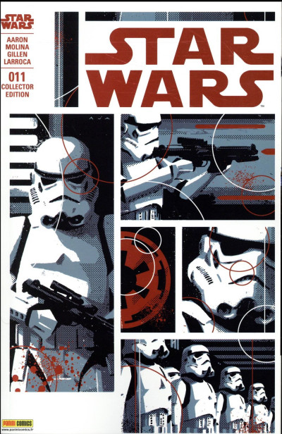 Couverture Star Wars fascicule tome 11 - Variant cover