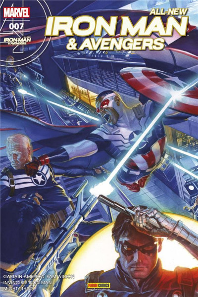 Couverture All-new Iron Man & Avengers tome 7