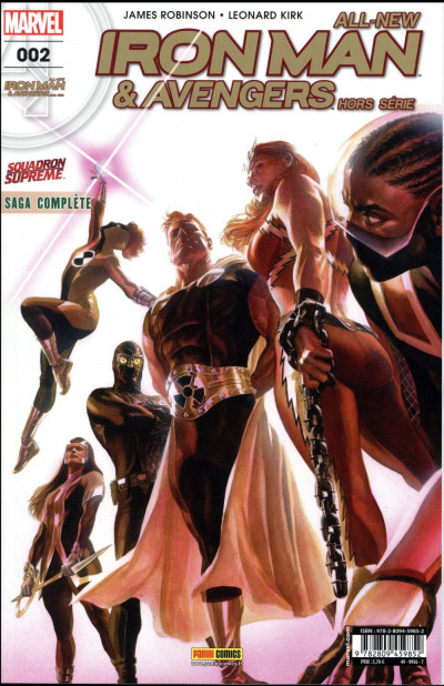 Couverture All-New Iron Man & Avengers HS tome 2