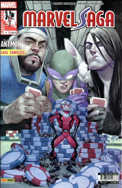 Couverture Marvel saga tome 4