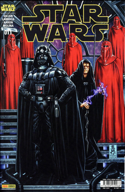 Couverture Star Wars fascicule tome 11 - cover 1/2