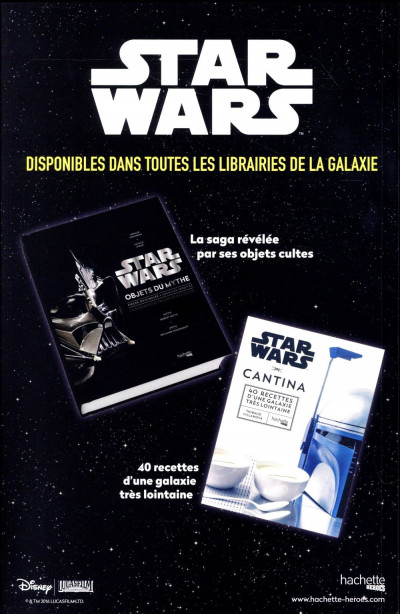 Dos Star Wars fascicule tome 11 - cover 1/2
