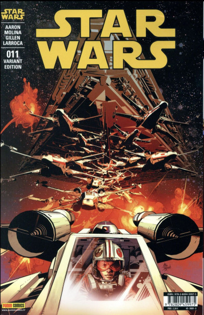 Couverture Star wars fascicule tome 11 - cover 2/2