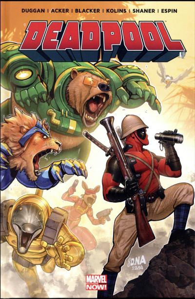 Couverture Deadpool - On n'est pas des bêtes