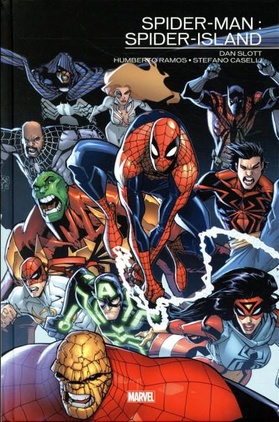 Couverture Spider-Man - Spider-island