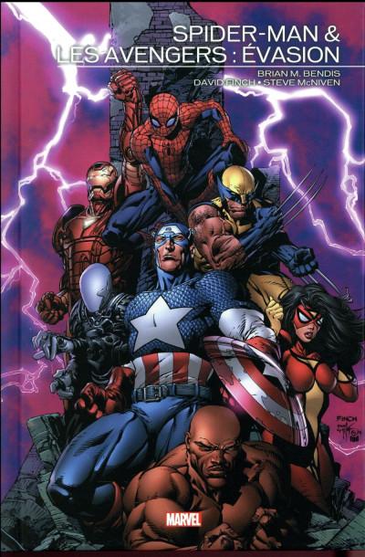 Couverture Spider-Man & Les Avengers - Évasion