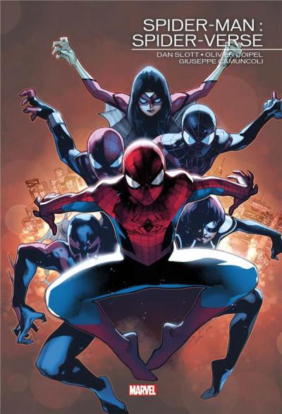 Couverture Spider-man - Spider-verse