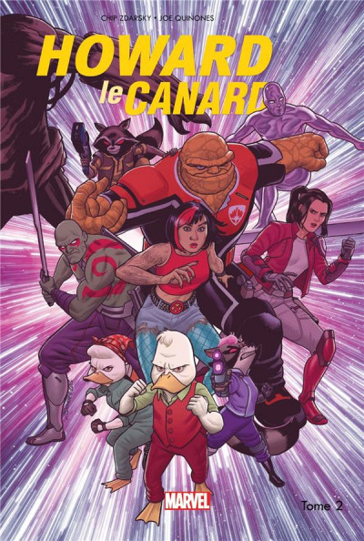 Couverture Howard le canard tome 2