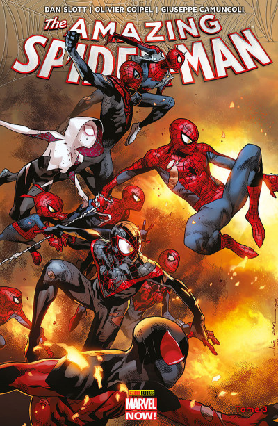Couverture Amazing Spider-Man tome 3
