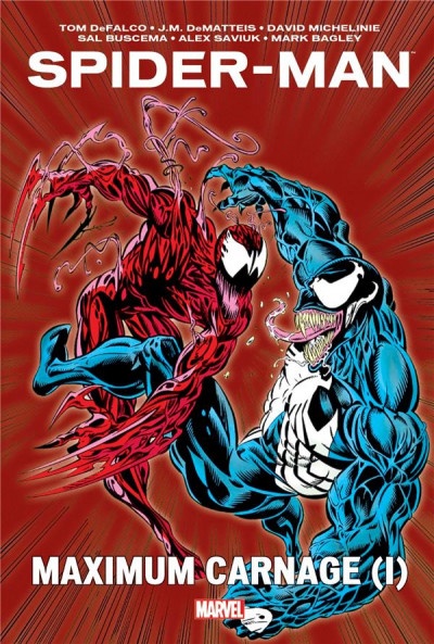 Couverture Spider-man - maximum Carnage tome 1