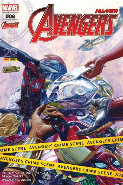 Couverture All-New Avengers tome 8