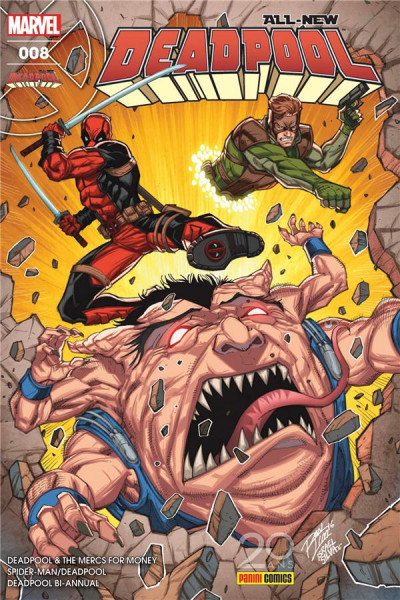 Couverture All-New Deadpool tome 8