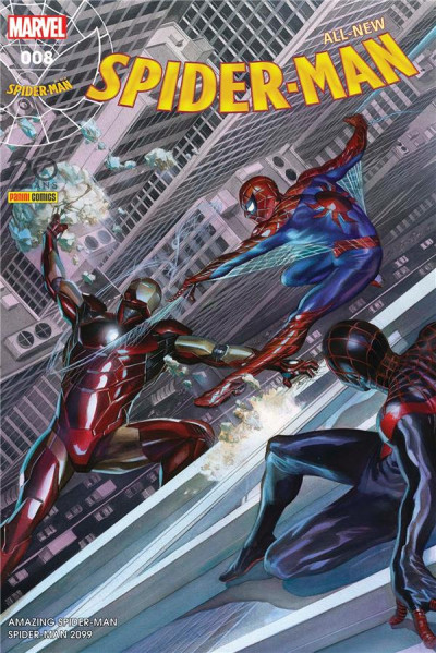 Couverture All-New Spider-Man tome 8